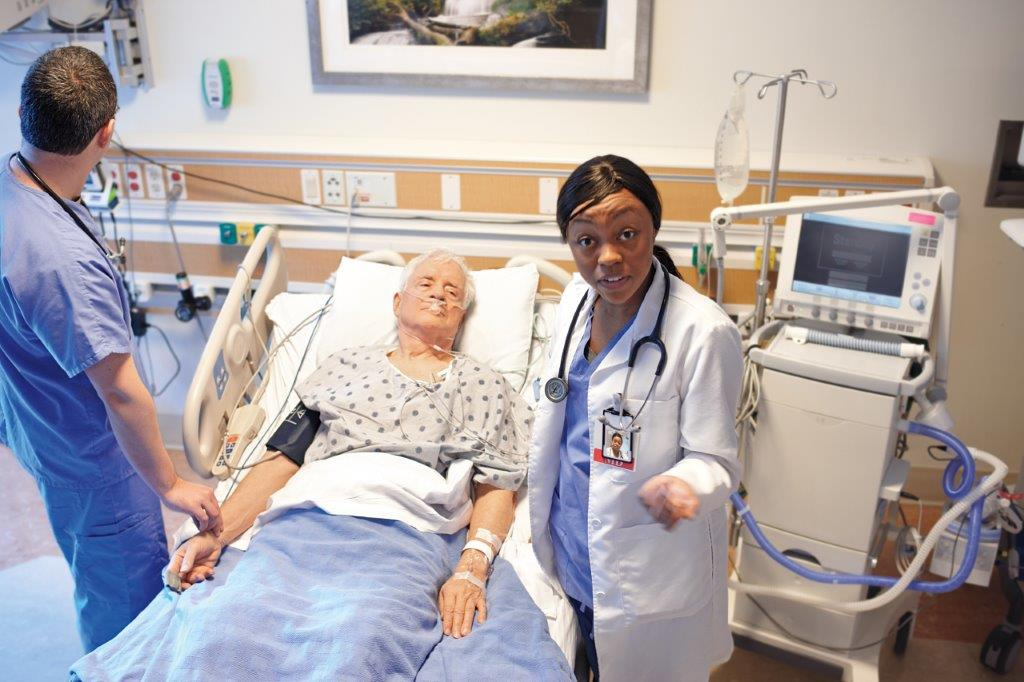 Intercept Highly Experienced ICU Physicians & Nurses